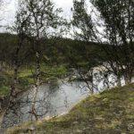 Kulpen ved Latevannetsteinen, og her har æ bada ofte