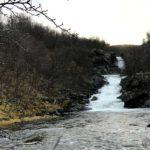 Vårflom i Kokelvdalfossen, bare det at det er høst nå 🤪
