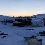 Men her ved Kokelvbrua er det enda ca. en uke før vi ser sola