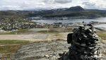 Hammerfest, sett fra varden på Vardefjell