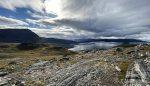 Mot Rypefjord med Tyven i venstre bildekant