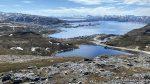 Salen med Indrefjord og Polarbase i bakgrunnen