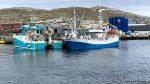 ...og båten, ved navn MS Lurøybas, gikk rett til kai ved Hammerfest Industriservice