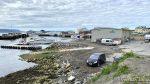 Kommunen og Hammerfest Maskinforretning sitt område på Fuglenes og den nye småbåthavna