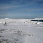 Utover fjorden