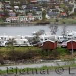 Campingplassen ved Storvannet