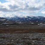 Oversikt mot Rottvannet og Rottoppen