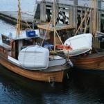 Småbåter i havna, 15. november 2007