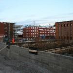 Nybygg i Parkgata, 15. november 2007