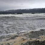Bølgene tok seg etter hvert opp.