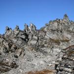 Skarpe fjellformasjoner