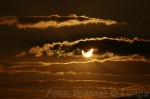 Litt mindre av sola nu og skyene trakk litt over