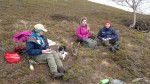 Helgegjester fra Sverige, som jobber på Mega, ble med Marit på fisketur.