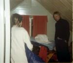 På Suotnju diskuteres soveplassene.