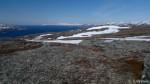 Utsikt mot Russefjellet og varden.