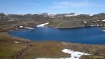 Holmevannet, nesten helt isfritt.