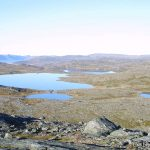 Rundvannet og Vestfjelldammen, samt noen navnløse småvann