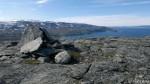 På toppen av Russefjellet.