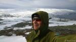 Ble litt mer vind på toppen av Russefjellet, så hetta måtte på.