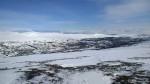 Russelvdalen med Gardevarre til venstre i bildet.