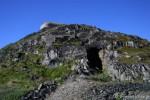 Skytestillinger/bunkere fra krigens dager på Skagen i Vardø