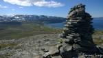 Trimvarden på Russefjellet må jo foreviges, som vanlig, min 37. tur i år..