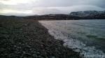Flæra i Kokelv kor isen fra Russelva har lagt sæ
