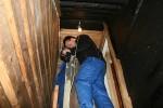 I trappa ned til kjelleren