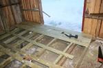 Starten av gulvbordene
