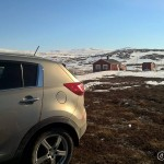 Parkert ved Permyra, ny tur på fjellet