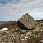 En stein litt malplassert