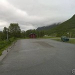 Siste rasteplass vi benytter på denne ferien, Indre Kjerringdal i Langfjorden