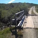 Mens æ gikk langs min vanlige rute til Råttelvbrua