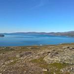 Utsikt utover Revsbotn i nydelig sommervær