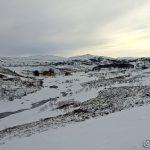 Bilde oppover Kokelvdalen, litt rart når et hus er borte i bildet