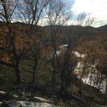 En pause med utsikt over Kokelva og ved dette punktet gikk det løype opp til Rottoppen