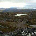 Ned den veien, forbi Holmevannet er ruta nedover