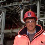 Ordfører Alf E. Jakobsen kan stolt overvære det hele og glede seg over at Snøhvit LNG er en realitet