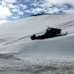 At snøen begynner å bli skikkelig råtten er vel dette bildet bevis for