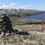 Varden, Kokelvs mest besøkte varde på et lite platå i siden av Russefjelet