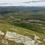 Utkikksplassen Storberget sett fra Samuelstoppen