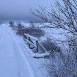 Rottelvbrua, winterwonderland