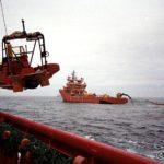Vi er flere supplybåter og vi har startet med å legge ut lensene
