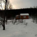 Gikk til denne forlatte hytta før æ snudde, litt over 5 km fra huset mitt