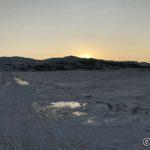 Rottoppen rett frem og ikke lenge før sola kommer opp, men æ må opp på fjellet for å se den