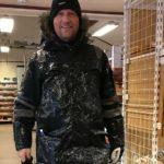 Arnt Steinar på butikken tok et bilde av en glassert person, nemlig mæ
