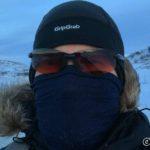 Fra Russelvbrua kom det litt mer vind og det ble etterhvert litt kaldt