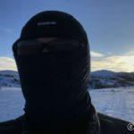 Når æ kom opp på sletta mot Kokelvdalen, ble kulda og brisen litt for kald. derfor dette...