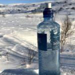 Skulle ta mæ en slurk iskaldt vann, men både drikketuten og korken var frossen, slik at det ble umulig