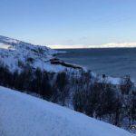 Ser frostrøyken driver på fjorden